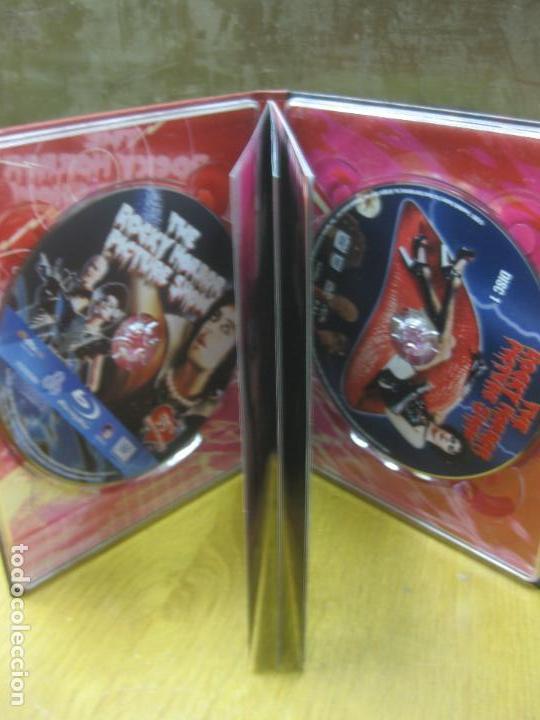 Cine: THE ROCKY HORROR PICTURE SHOW.EDICION COLECCIONISTA. UN BLU-RAY + UN DVD + UN LIBRO EXCLUSIVO. - Foto 2 - 145050838