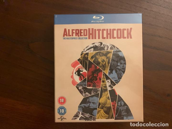 ALFRED HITCHCOCK - THE MASTERPIECE COLLECTION (Cine - Películas - Blu-Ray Disc)