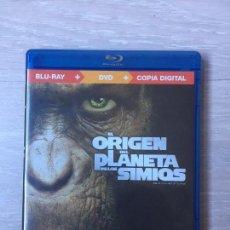 Cine: EL ORIGEN DEL PLANETA DE LOS SIMIOS (BLU-RAY+DVD). Lote 145239742