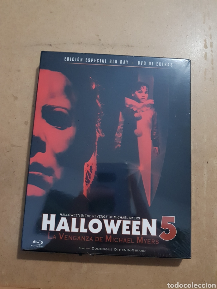 Halloween 5 Blu Ray.Resen Halloween 5 Bluray Nuevo Precintado