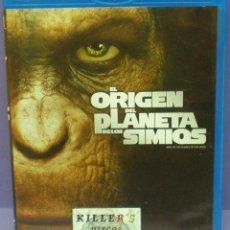 Cine: EL ORIGEN DEL PLANETA DE LOS SIMIOS - BLU RAY. Lote 146146286