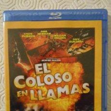 Cine: EL COLOSO EN LLAMAS. BLURAY DE LA PELICULA DE JOHN GUILLERMIN. CON STEVE MCQUEEN, PAUL NEWMAN, WILLI. Lote 146441502