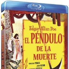 Cine: EL PÉNDULO DE LA MUERTE - BLU RAY - VINCENT PRICE / ROGER CORMAN. Lote 146516722
