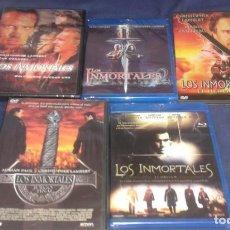 Cine: LOS INMORTALES !!! SAGA COMPLETA EN DVDS + BLU-RAYS *** 5 DISCOS PRECINTADOS ****. Lote 161923596