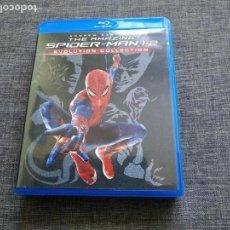 Cine: BLURAY - THE AMAZING SPIDERMAN 1 , 2 - EVOLUTION COLLECTION - ANDREW GARFIELD. Lote 146735910