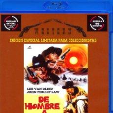 Cine: DE HOMBRE A HOMBRE (BLU-RAY DISC BD) EDICIÓN OFICIAL COLECCIONISTAS LEE VAN CLEEF EXTRAS 90 MINUTOS. Lote 146888530