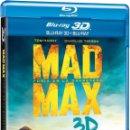 Cine: MAD MAX FURIA EN LA CARRETERA - SOLO DISCO 3D USADO UNA SOLA VEZ ¡¡UNICO EN TODOCOLECCION!!. Lote 147077218