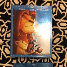 Cine: EL REY LEON EDICCION DIAMANTE BLURAY+DVD. Lote 147544545