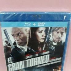 Cine: EL GRAN TORNEO BLURAY +DVD. Lote 147578902