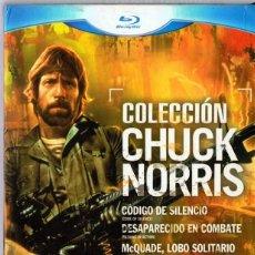 Cine: COLECCIÓN CHUCK NORRIS ( 4 BLU -RAY). Lote 147704402