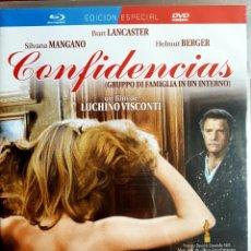 Cine: CONFIDENCIAS. Lote 148232572