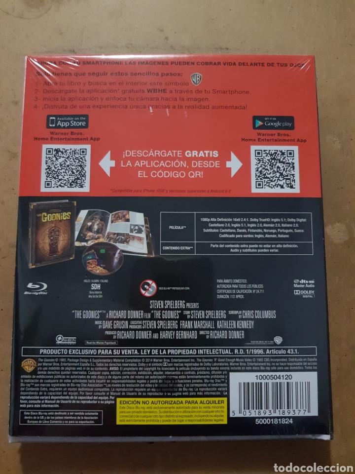 Cinema: (WARNER ) LOS GOONIES EDICION ESPECIAL DIGIBOOK - BLURAY NUEVO PRECINTADO - Foto 2 - 150847601