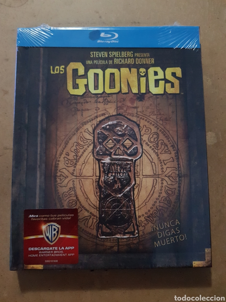(WARNER ) LOS GOONIES EDICION ESPECIAL DIGIBOOK - BLURAY NUEVO PRECINTADO (Cinema - Movies - Blu-Ray Disc)