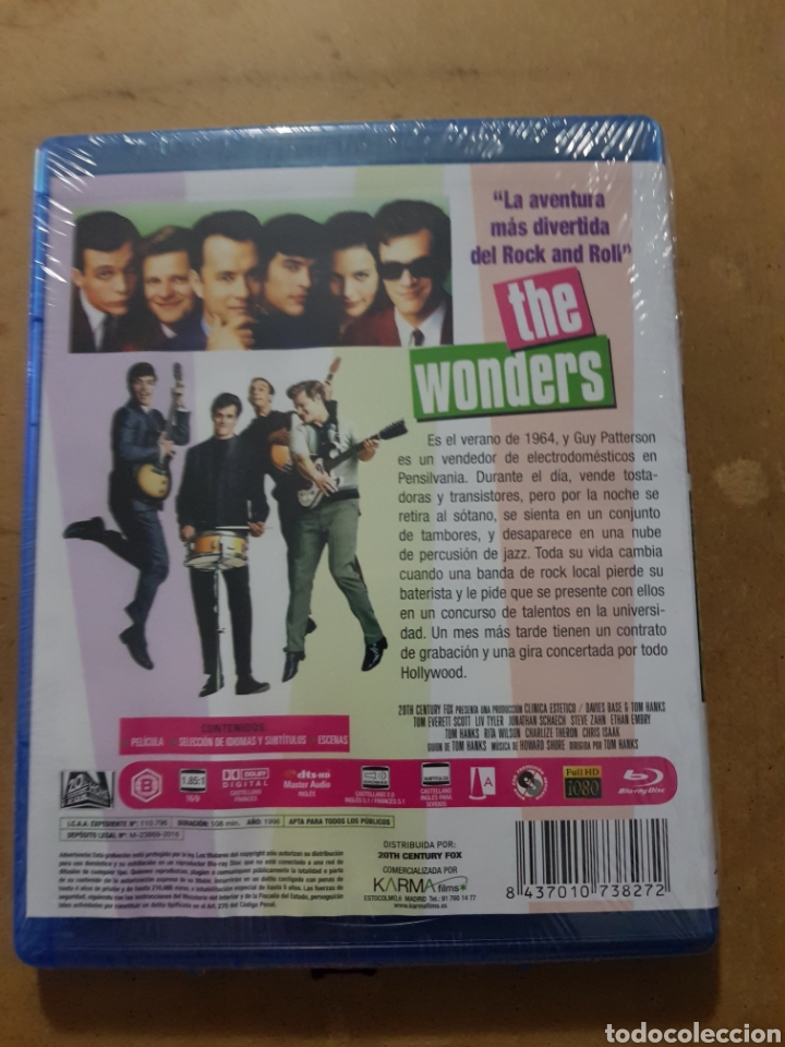 Cine: (KARMA ) THE WONDERS - BLURAY NUEVO PRECINTADO - Foto 2 - 150847645