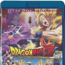 Cine: DRAGON BALL Z : BATTLE OF GODS (DORAGON BÔRU Z: KAMI TO KAMI) (BLU-RAY + DVD). Lote 150864898