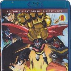 Cine: MAZINGER Z - VOL. 6 (BLU-RAY + DVD). Lote 150864970