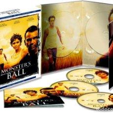 Cine: MONSTER´S BALL (BLU-RAY + DVD + LIBRO) (ED. COLECCIONISTA). Lote 150866789
