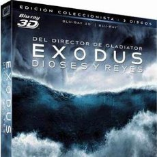 Cine: EXODUS: DIOSES Y REYES (BLU-RAY 3D + BLU-RAY) (EXODUS: GODS AND KINGS). Lote 150867625