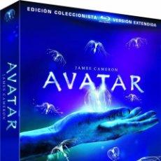 Cine: AVATAR (BLU-RAY) (ED. EXTENDIDA) (ED. COLECCIONISTA). Lote 150867925