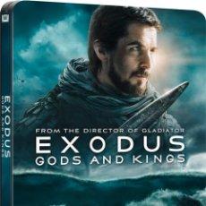 Cine: EXODUS : DIOSES Y REYES (BLU-RAY 3D + BLU-RAY) (EXODUS: GODS AND KINGS) (ED.METÁLICA). Lote 150867957