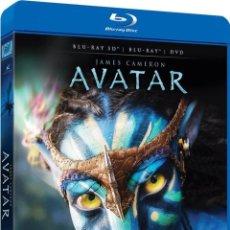 Cine: AVATAR (BLU-RAY 3D + BLU-RAY + DVD). Lote 150868005