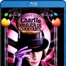 Cine: CHARLIE Y LA FÁBRICA DE CHOCOLATE (BLU-RAY) (CHARLIE AND THE CHOCOLATE FACTORY). Lote 150868118