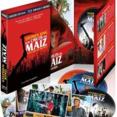 Cine: DIGIPACK LOS CHICOS DEL MAIZ I-II-III (BLU-RAY). Lote 150868674