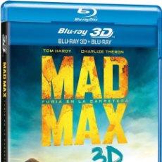 Cine: MAD MAX : FURIA EN LA CARRETERA (BLU-RAY 3D + BLU-RAY) (MAD MAX: FURY ROAD). Lote 150868802