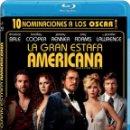 Cine: LA GRAN ESTAFA AMERICANA (BLU-RAY) (AMERICAN HUSTLE). Lote 162830149