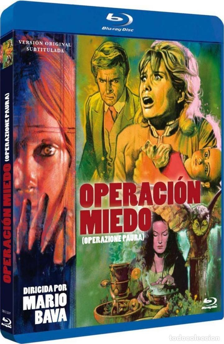 OPERACION MIEDO (V.O.S.) (BLU-RAY) (BD-R) (OPERAZIONE PAURA) (Cine - Películas - Blu-Ray Disc)