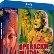 Cine: OPERACION MIEDO (V.O.S.) (BLU-RAY) (BD-R) (OPERAZIONE PAURA). Lote 150869325