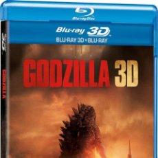 Cine: GODZILLA (2014) (BLU-RAY 3D+ BLU-RAY). Lote 150869481