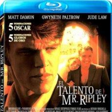 Cine: EL TALENTO DE MR. RIPLEY (BLU-RAY + DVD) (THE TALENTED MR RIPLEY). Lote 150869830