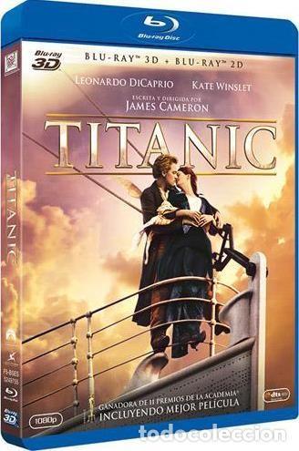 TITANIC (BLU-RAY 3D + BLU-RAY) (Cine - Películas - Blu-Ray Disc)