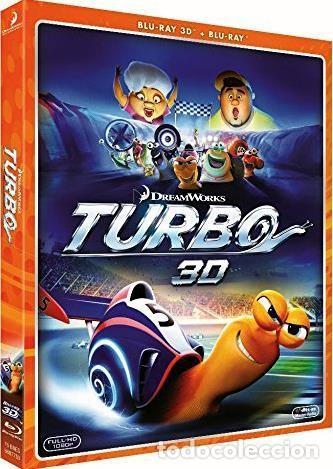 TURBO (BLU-RAY 3D + BLU-RAY) (Cine - Películas - Blu-Ray Disc)