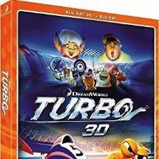 Cine: TURBO (BLU-RAY 3D + BLU-RAY). Lote 150870196