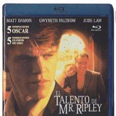 Cine: EL TALENTO DE MR. RIPLEY (BLU-RAY) (THE TALENTED MR RIPLEY). Lote 150874797