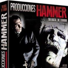 Cine: PRODUCCIONES HAMMER - TRILOGIA DEL TERROR (BLU-RAY). Lote 150876329