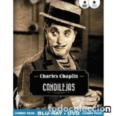 Cine: CANDILEJAS (BLU-RAY + DVD) DIRECTOR: CHARLES CHAPLIN ACTORES: CHARLES CHAPLIN, CLAIRE BLOOM. Lote 151208614