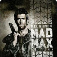 Cine: MAD MAX TRILOGY (EDICIÓN STEELBOOK) DIRECTOR: GEORGE MILLER, GEORGE OGILVE ACTORES: MEL GIBSON. Lote 151422298