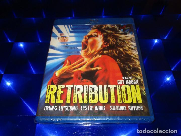 RETRIBUTION - BLU-RAY - E. LL3086 - SATAN MEDIA - PRECINTADA - GUY MAGAR - DENNIS LIPSCOMB ... (Cine - Películas - Blu-Ray Disc)