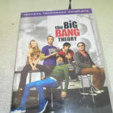 Cine: THE BIG BANG THEORY - TERCERA TEMPORADA COMPLETA - 3 DVDS. Lote 151980898