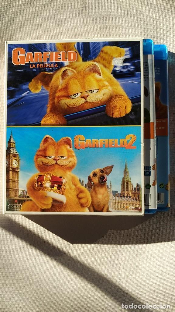 PACK GARFIELD (2 BLURAY) (Cine - Películas - Blu-Ray Disc)