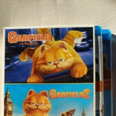 Cine: PACK GARFIELD (2 BLURAY). Lote 152171994