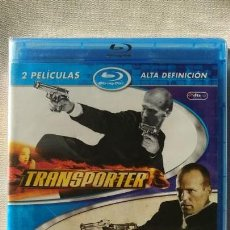 Cine: PACK TRANSPORTER 1 + TRANSPORTER 2 (2 BLURAY).. Lote 152175506