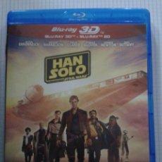 Cine: HAN SOLO UNA HISTORIA DE STAR WARS. ALDEN EHRENREICH. BLU RAY 3D. Lote 152421046