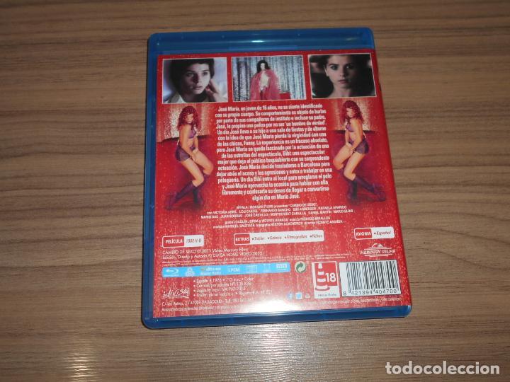 Cine: CAMBIO de SEXO Blu-Ray Disc VICENTE ARANDA Victoria Abril COMO NUEVO - Foto 2 - 211519579