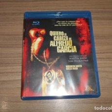 Cine: QUIERO LA CABEZA DE ALFREDO GARCIA BLU-RAY DISC DE SAM PECKINPAH COMO NUEVO. Lote 152443518