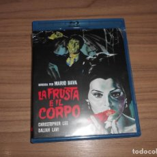 Cine: LA FRUSTA E IL CORPO EDICION ESPECIAL 2 BLU-RAY DISC MARIO BAVA CHRISTOPHER LEE TERROR DISCOS NUEVOS. Lote 152445058