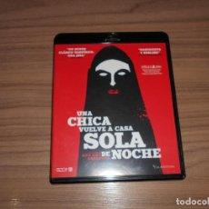 Cine: UNA CHICA VUELVE SOLA A CASA DE NOCHE BLU-RAY DISC COMO NUEVO. Lote 152445626